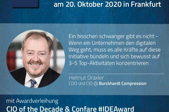 Helmut Draxler (CDIO, Burckhardt Compression Group)