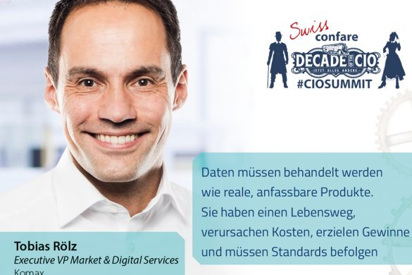 Tobias Rölz als Executive Vice President Market & Digital Services