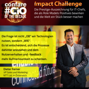 Augmented Reality: NTT Vice President Sales und Marketing Dieter Ferner