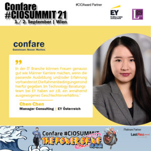 Chen Chen, Manager Consulting @ EY