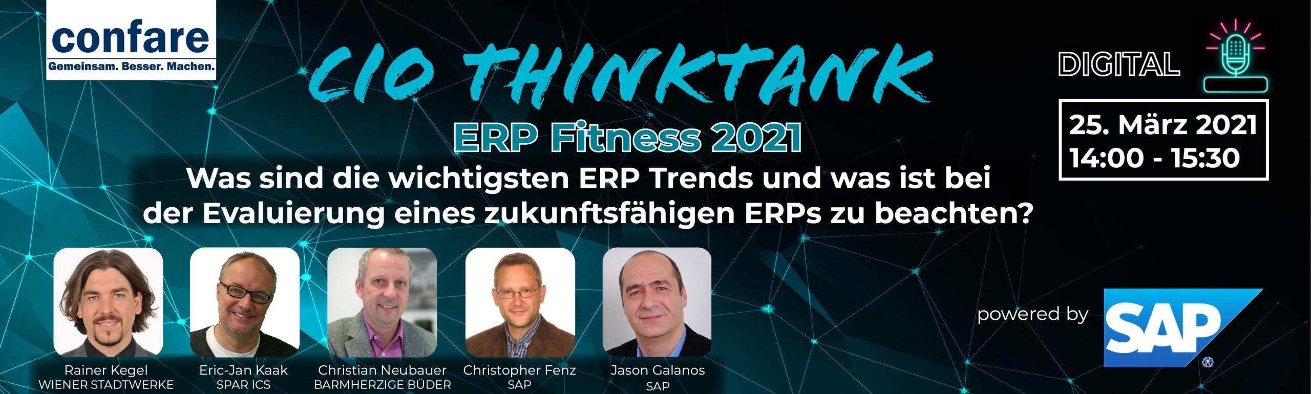 SAP Webcast ThinkTank