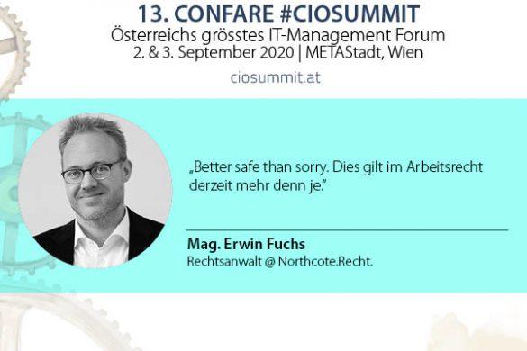 Wirtschaftsanwalt Erwin Fuchs