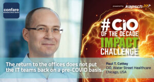 Paul Cottey about Covid19 and the return to the office