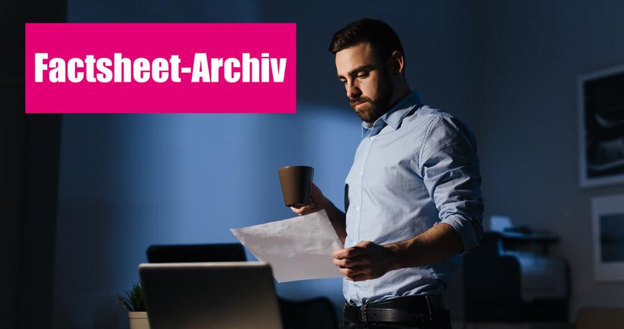 Cybersecurity Infocenter Factsheet Archive