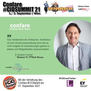Günther FISCHER - Director IT TTTech Group