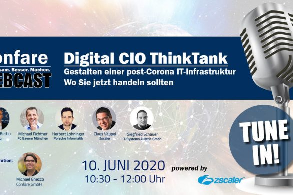 Webcast post-Corona IT-Infrastruktur