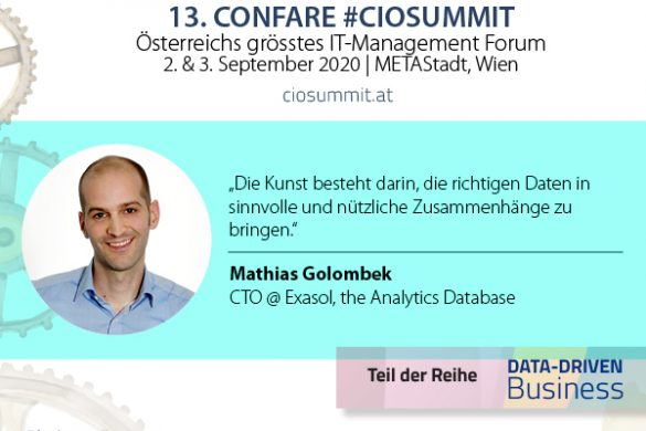CIOSUMMIT 2020 - Mathias Golombek