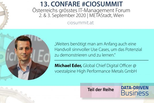Michael Eder - Global Chief Digital Officer at voestalpine High Performance Metals GmbH