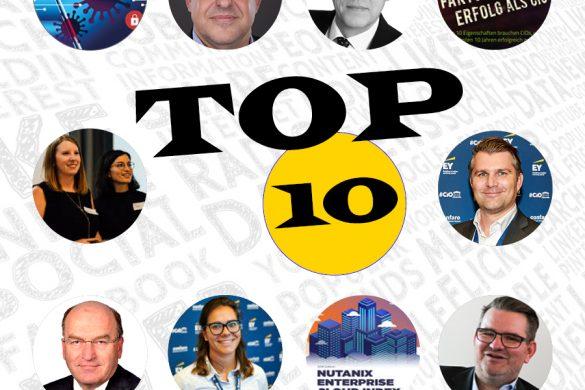 Top10 Blogeinträge - Juli