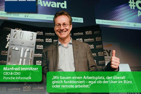Porsche Informatik, Manfred Immitzer - Homeoffice