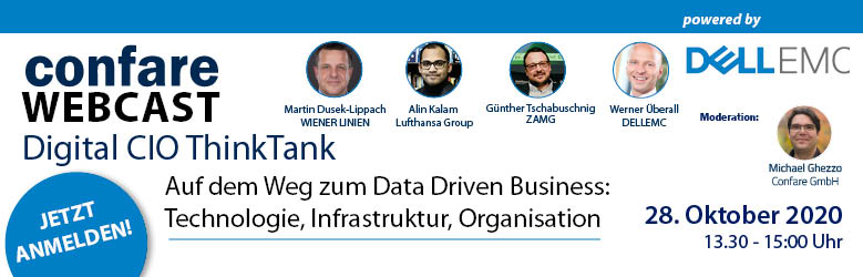 Confare Digital CIO ThinkTank: Data Driven Business