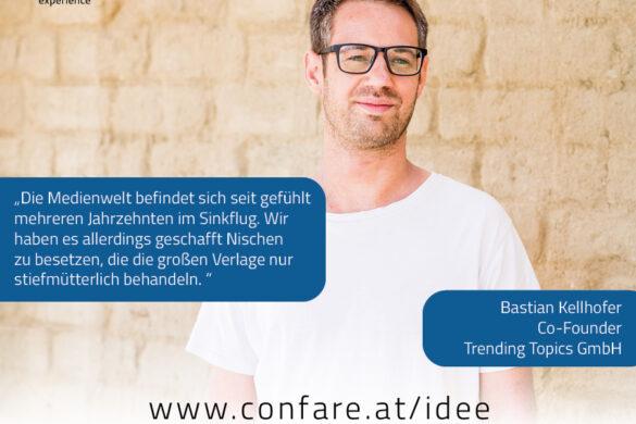 Trending Topics Gründer Bastian Kellhofer