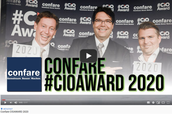 VIDEO Confare #CIOAward