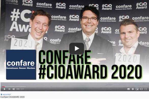 VIDEO Confare #CIOAward