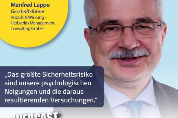 Sicher im Netz: Manfred Lappe