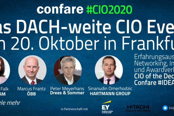 #CIO2020 Das DACH-weite CIO Event