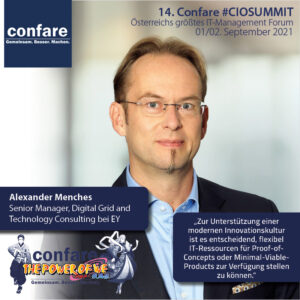 Alexander Menches EY Confare Blog