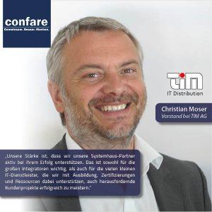 Christian Moser Vorstand TIM AG