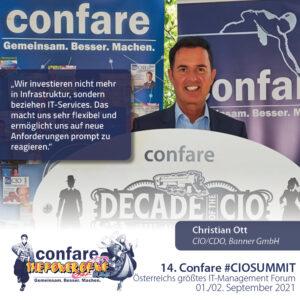 Banner CIO Christian Ott