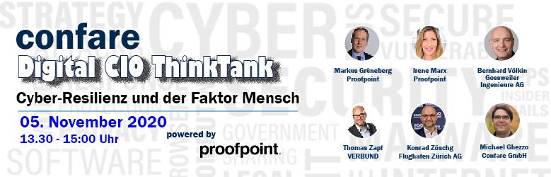 Confare Digital CIO ThinkTank: CYBER-RESILIENZ UND DER FAKTOR MENSCH