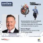Confare CIOSUMMIT - Werner Hingerl