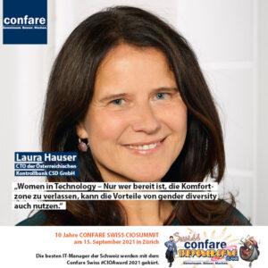 Genda diversity: Laura Hauser