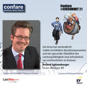 Enterprise Architecture Management : EY Senior Manager Roland Spitzenberger
