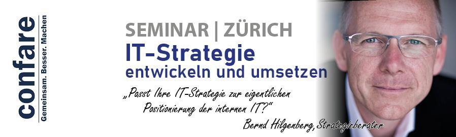 Praxisseminar. IT-Strategie Zürich