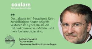 Jürgen Renfer, CIO&CISO -