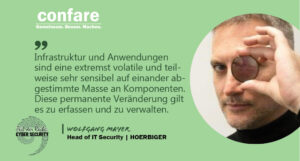 Wolfgang Mayer - Head of IT Security at HOERBIGER Deutschland Holding GmbH