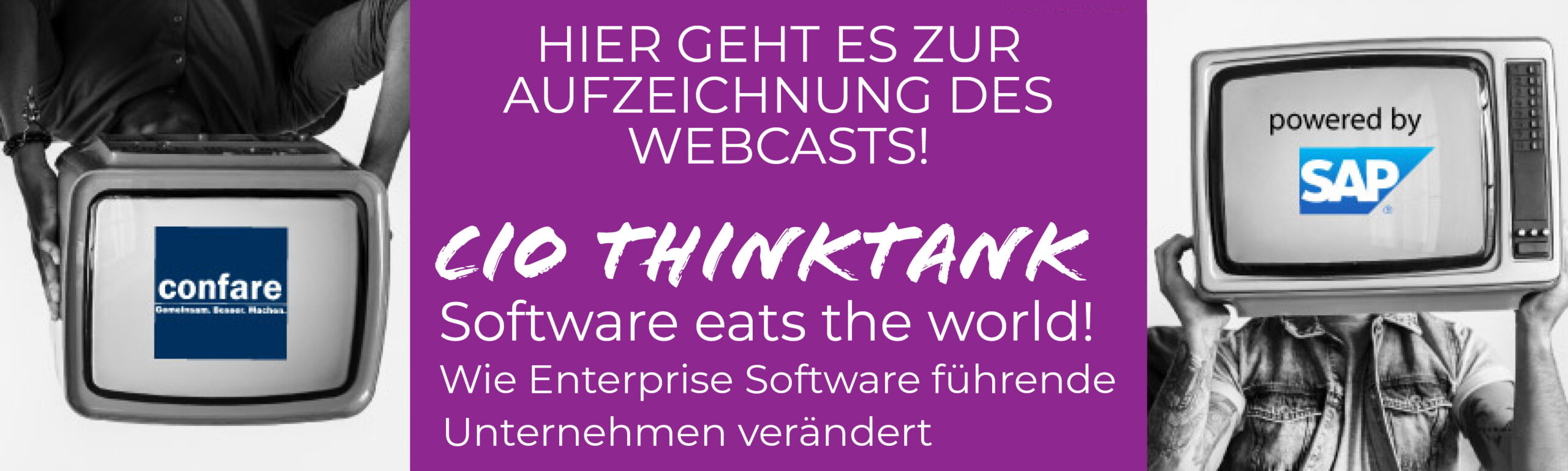 Software eats the World Webcast über ERP-Software