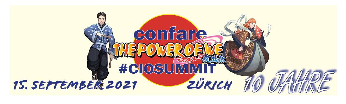 Confare #CIOSUMMIT Zürich 2021