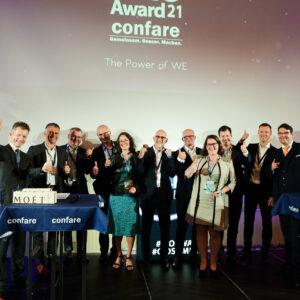 Gewinner des 10. Confare Swiss #CIOAward