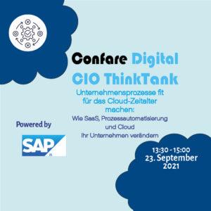 Confare Digital CIO ThinkTank powered by SAP