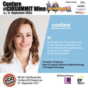 Christine Grabmair: customer centric IT