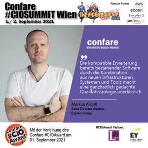CIOSUMMIT - Markus Kröpfl