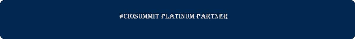 #CIOSUMMIT Platinum Partner2
