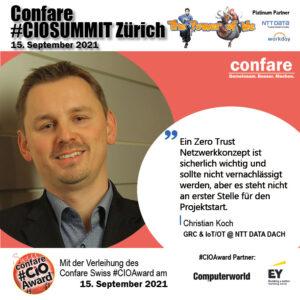 Christian Koch - Zero Trust