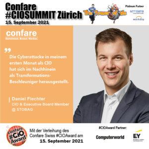 CIOSUMMIT Zürich Daniel Fiechter