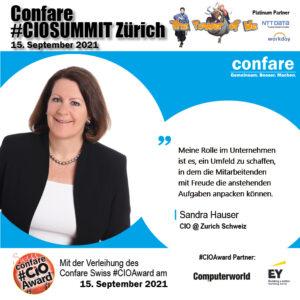 CIOSUMMIT Zürich 21 - Sandra Hauser - neu