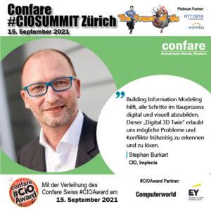 CIOSUMMIT Zürich 21 - Stephan Burkart