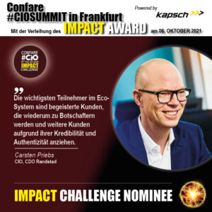 Carsten Priebs Impact Nominee Blog 2