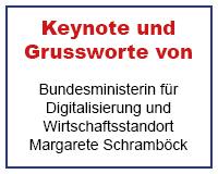 Margarete Schramböck, Bundesministerin für Digitalisierung und Wirtschaftsstandort