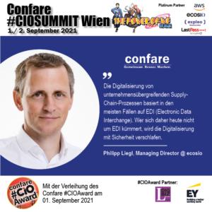 Philipp Liegl, ecosio: Electronic Data Interchange