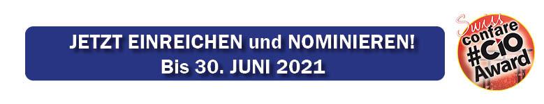 Nominierungsbanner SWISS CIOSUMMIT 2021