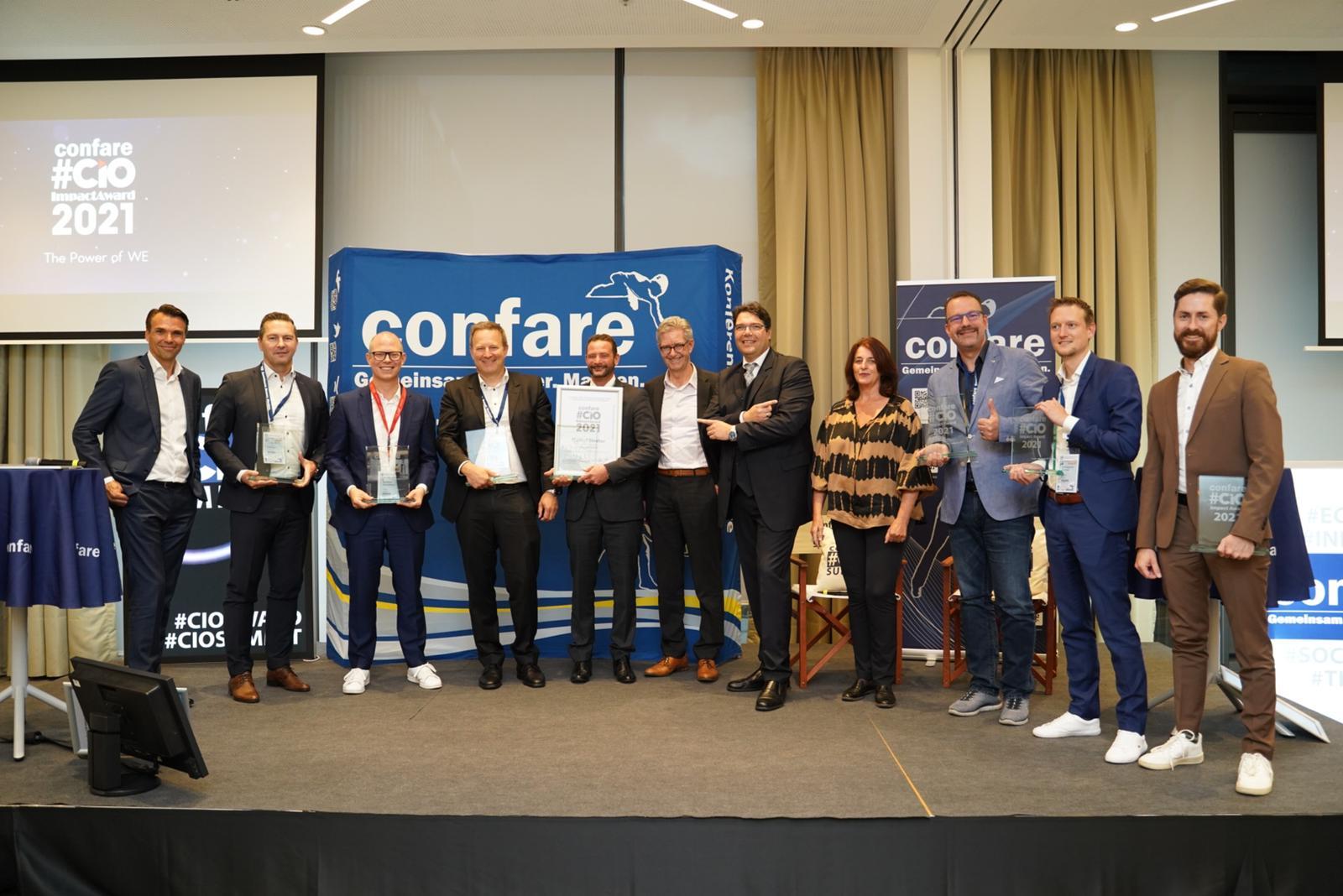 Die Gewinner der Confare #ImpactChallenge