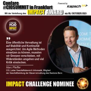 Impact Challenge Nominee - Marc Pfeiffer Blogmemes