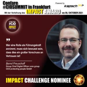 Impact Challenge Nominee Preuschoff