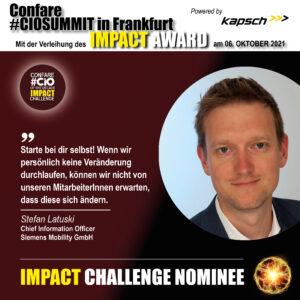 Stefan Latuski Impact Challenge Nominee