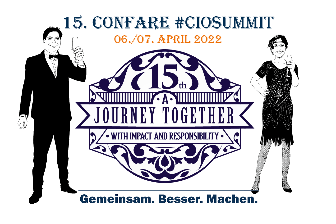 15. Confare CIOSUMMIT - A Journey Together with Imact and responsibility